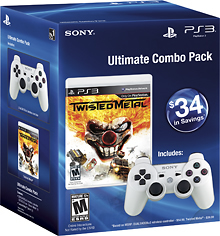 Sony Computer Entertainment LLC - Ultimate Combo Pack: Twisted Metal & DUALSHOCK 3 Wireless Controller