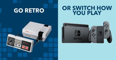 Nintendo Switch and NES Classic