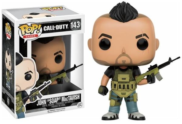 John Soap Mactavish Funko Pop!