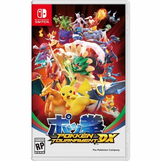 Pokken Tournament Nintendo Switch