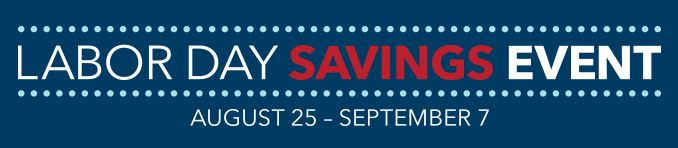 Labor Day Savings Event