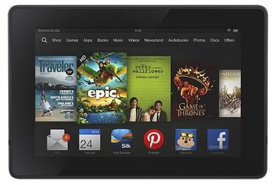 New Kindle Fire HDX
