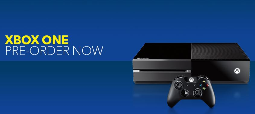 Xbox One $399.99 Pre-Order