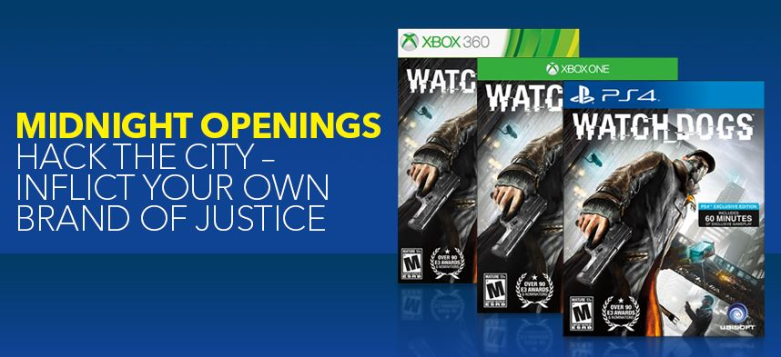 Watch Dogs Midnight Openings at Best Buy
