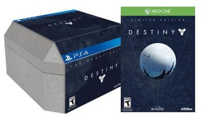 Destiny Limited and Ghost Editions at Best Buy