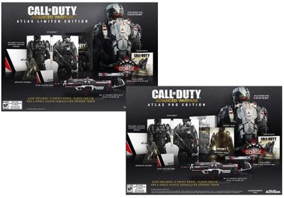 Call of Duty: Advanced Warfare Atlas Limited and Pro Editions