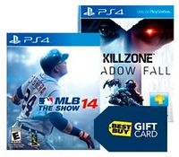 Buy 2 Select PS4 Games a Get a $30 Gift Card