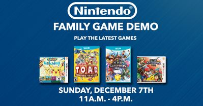 Nintendo Family Game Demos