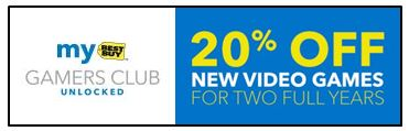 Gamers Club Unlocked 20% Off