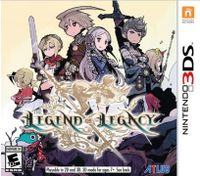 The Legend of Legacy Nintendo 3DS