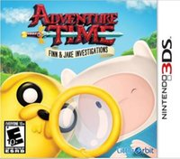 Adventure Time Finn and Jake Investigations Nintendo 3DS
