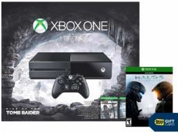 Free Halo 5 Guardians $50 Gift Card and $30 Savings with Xbox One Rise of the Tomb Raider Bundle