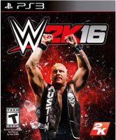 WWE 2K16 PlayStation 3