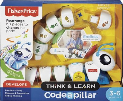 Fisher-Price - Think & Learn Code-a-pillar™- White