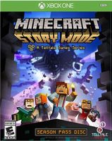 Minecraft Story Mode Season Pass Disc Xbox One