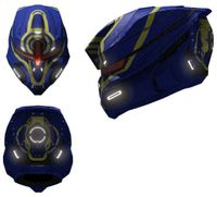 Halo 4 Deadeye helmet