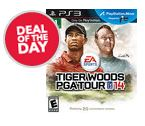 Deal of the Day PS3 Tiger Woods 14