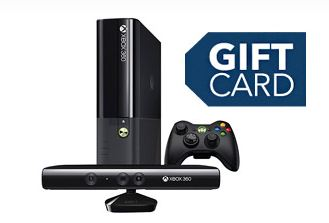 Free Gift Card with Xbox 360 E Series Offer