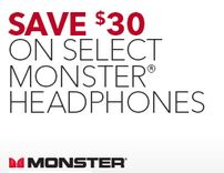 Save on Monster Headphones