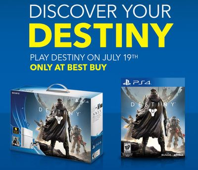 Play Destiny at Select Best Buy Stores