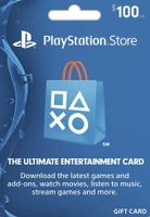PlayStation Network Card $100