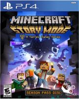 Minecraft Story Mode Season Pass Disc PlayStation 4