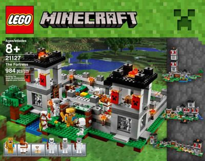 A Minecraft LEGO Set