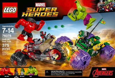 A Marvel LEGO Set