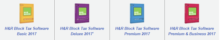H&R Block Versions