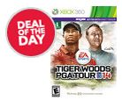 Deal of the Day Xbox 360 Tiger Woods 14