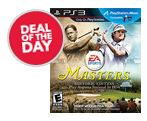 Deal of the Day PS3 Tiger Woods 13 Masters Edition