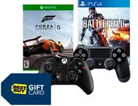 Free Gift Card with Two Games or Controllers