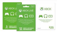 Free $5 Digital Gift Card for Xbox Live