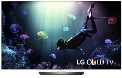 """LG - 55"""" Class - (54.6"""" Diag.) - OLED - 2160p - Smart - 4K Ultra HD TV - with High Dynamic Range - Silver"""